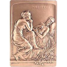 Médaille, Monnaie de Paris, Médecine / Bronze Medal / BOX & Certificate / N107