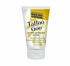 Tattoo Goo Aftercare Lotion Twin Pack- 2x2oz With Healix Gold and Panthenol