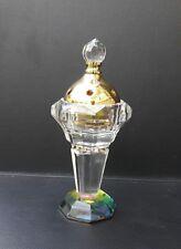 Glass Incense Burner Bakhoor Mabkhara Bukhoor Aroma Oud Oudh EXCLUSIVE* Crystal