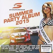 V8 Supercar Australia - Summer Party Album 2015 CD NEW & SEALED