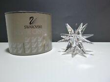 Retired *Vintage* Swarovski Crystal Star Candle Holder (1989-2004) Medium 760010