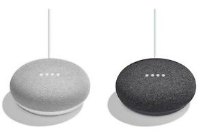 Google Home Mini Your Choice Charcoal, or Chalk BRAND NEW In The Box