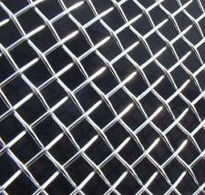 Defender 90 110 Plana De Acero Inoxidable Negro Panal Malla Rejilla BA 3906