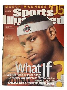 LA Lakers Mint Lebron James Sports Illustrated Ohio State No Label Mint Buckeyes
