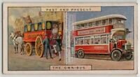 1820s Shillibeers Omnibus and 1920s Double-Decker Bus 85+ Y/O Trade Card