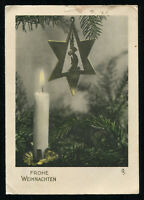1935 Germany 3rd Reich Postcard German Merry Christmas Hitler Era Beer Hall Coup