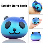 Funny Blue Panda Cream Scented Squishy Slow Rising Squeeze Kid Toy Phone Gift