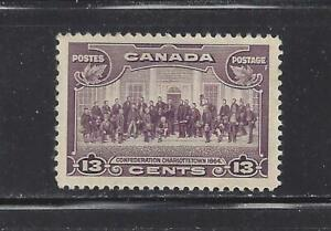 CANADA - 224 - MH - 1935 - CONFEDERATION CONFERENCE AT CHARLOTTETOWN, 1864