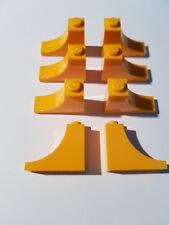 Moteur Lego ® 2 x 47457 toit Arc Pierre 2 x 2 x 2//3 Rouge 4220515 #tw48