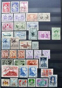 "BELGIEN 1957 "" JAHRGANGE 1957 ""  sehr schon gestempelt  € 32"