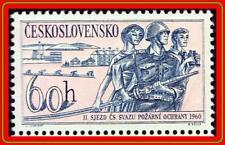 CZECHOSLOVAKIA 1960 FIREFIGHTERS MNH