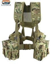 NEW - BTP Full PLCE Style 6 Piece Webbing Set Army Cadet MTP Multicam Compatible