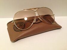 VINTAGE B&L RAY BAN SHOOTER AVIATOR 62 mm. USA CHANGEABLE