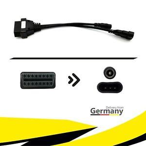 ★PKW Diagnose Adapterstecker Kabel OBD2 auf OBD1 für ALFA ROMEO FIAT LANCIA KFZ★