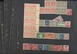 PHILIPPINES, Canal Zone, Excellent assortment of Stamps in stock pages