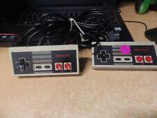 LOT OF 2 OEM Nintendo NES Original Controller NES-004 OEM Tested WORK VINTAGE #4