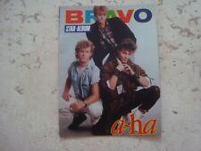 A-HA rare MINIATURE vintage 80s special cover magazine #2 AHA Morten Harket