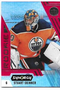 20-21 2020-21 Synergy Stuart Skinner ROOKIE RED Parallel #96-Oilers