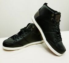 Levi's Gilles Millstone Boys High Top Sneakers SIZE 6 BLACK