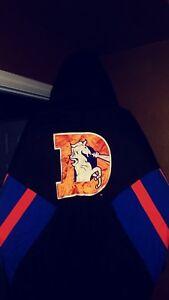 Vintage Denver Broncos Throwback Pullover Starter Jacket XL! New NWOT