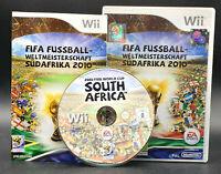 "NINTENDO WII SPIEL"" FIFA FUSSBALL WM WELTMEISTERSCHAFT 2010 Südafika "" KOMPLETT"