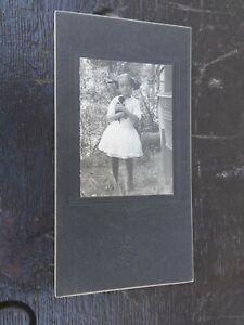 Beatrice Shanks (1901-1994) Oklahoma Cabinet Card