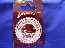 Disney * INDIANA JONES - HAT & WHIP * New on Card Attraction Trading Pin