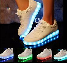 Unisex Farbwechsel LED Licht leuchtenden Schuhe Sneaker Blinkschuhe Tanzen Shoes