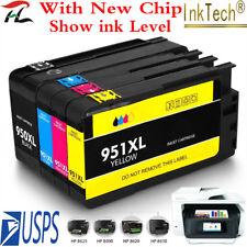 4-PK ink cartridges for HP 950XL 951 XL OfficeJet Pro 8100 8600 8610 8620 8630