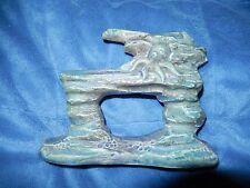 New listing Vtg Octopus Hiding In Rock Formation Ceramic Aquarium Ornament Japan Unused Nm