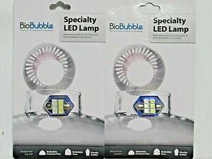 Aquarium Bio Bubble LED Replacement Bulbs Blue/White FITS TERRA WONDER BUBBLE