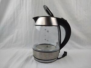 Chefman Cordless Glass Electric Kettle 1.8 Liter