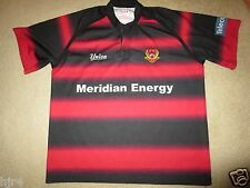 Canterbury Rugby New Zealand CRFU Meridian Energy Union Jersey XL mens