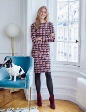 Boden Ladies Priscilla Jacquard Dress UK 10r WW158