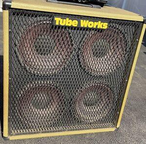 1990's BK Butler Mosvalve Tube Works RT2100 Rare  4x10 Combo Tweed Cabinet