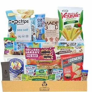 Healthy Snacks Care Package 20 Count Variety Snack Pack Assortment of Nuts Ba...