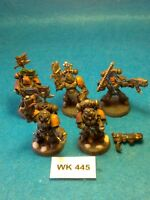 Warhammer 40K - Space Wolves - Grey Hunters x 5 with two Plasma Gun - WK445