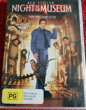 DVD. Night at the Museum / Everything comes to life /Ben Stiller / (PG) / Reg 4