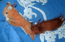Steiff Cosy red squirrel dralon / Mohair with ID  rare