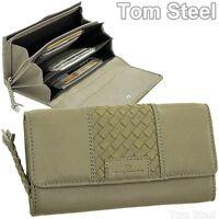 Damen Portemonnaie große Brieftasche TOM TAILOR Leder Geldbörse Geldbeutel Börse