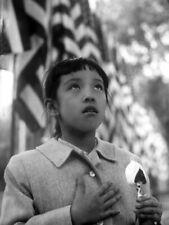 1960 Pledge of Allegiance JOAN IWASAKI Vintage Original NYC Photo