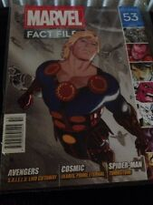 Marvel Fact Files #53 Ikaris Cover by Eaglemoss Collections