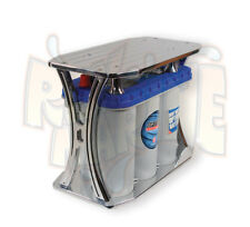 Optima Billet Battery Box for 31 Series Optima Battery Marine Blue Top