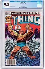 Thing #1 CGC 9.8 Marvel 1983 Fantastic Four! John Byrne! New Case! WP! H5 113 cm
