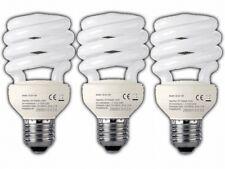 3x ENERGIESPARLAMPEN 15W BIRNE | E27 SPARLAMPE SPIRALLAMPE | 2.800 K WARMWEISS