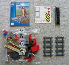 LEGO City - Train Filling Station - Bag 6, Belt, & Track - From Red Cargo 3677