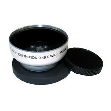 Wide Angle Lens 43mm FOR JVC Everio GZ-HD10,HD30,HD40,HD5,HD6,MG730 Camcorder