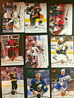 2018-19 UPPER DECK SERIES 1 BASE HOCKEY CARDS YOU PICK FROM LIST (1-200) BW