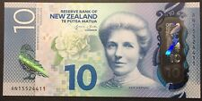 Banknote - 2015 New Zealand Polymer Banknotes 10 Dollar UNC