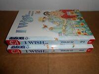 I Wish vol. 1-2 Manhwa Manga Graphic Novel Book Lot in English
